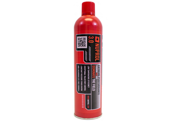 NUPROL GREEN GAS 3.0 RED CAN LOW TEMPERATURE