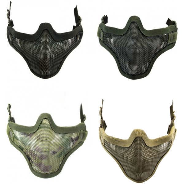 NUPROL PLAIN MESH LOWER FACE PROTECTION SHIELD