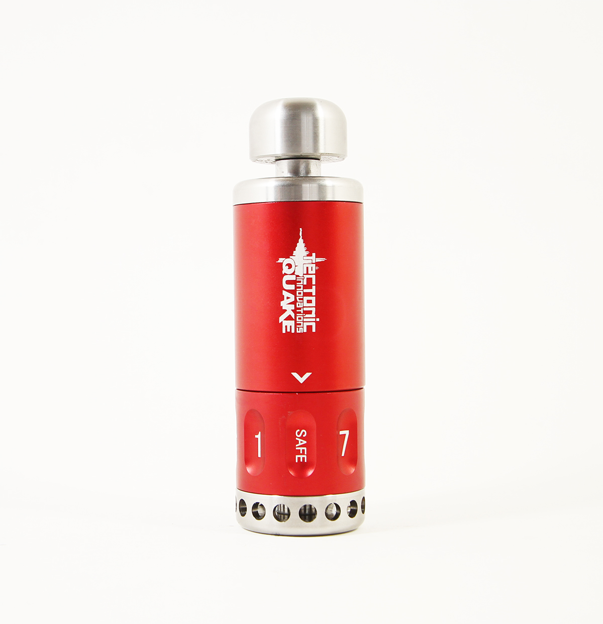 Tectonic Innovations Quake 8 Qu8ke Distraction Device Airsoft Red