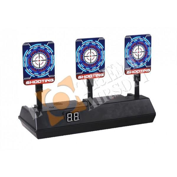 CCCP Shooting Game Zone Automatic Reset Target with Digital Display (3 Target)
